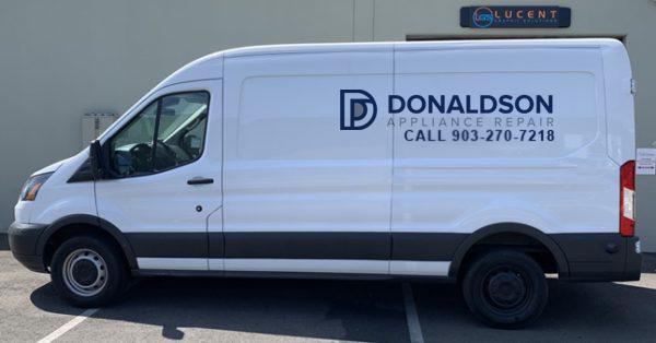 donaldson appliance repair in tyler